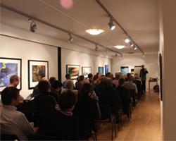 Kunstkveld Med Foredrag Av Stanley Stornes