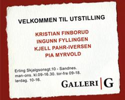 Søndagsåpent På Galleriet.