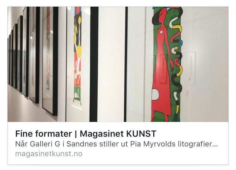 Omtale Magasinet Kunst
